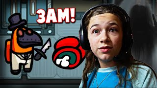 Playing AMONG US At 3AM!! **Bad Idea** | JKREW GAMING