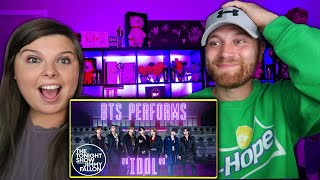 BTS: Idol @The Tonight Show Starring Jimmy Fallon | ATTACK AFTER ATTACK!  BTS WEEK