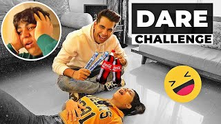 DARE Challenge with Brother & Sister | Rimorav Vlogs