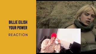 Billie Eilish - Your Power (Official Music Video) | [REACTION GERMAN]
