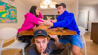 I LIVED SECRETLY IN MY FRIEND'S HOUSE FOR 24 HOURS!!