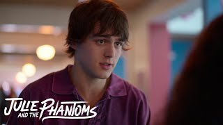Julie and the Phantoms - Julie talks with Luke in her school (Episode 7)