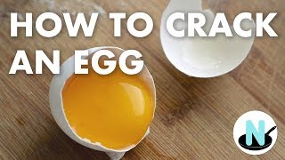 How to Crack an Egg - A New Cook
