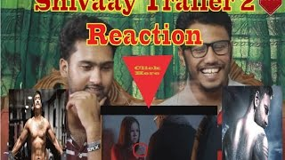 Shivaay Trailer 2 React by Action Reaction