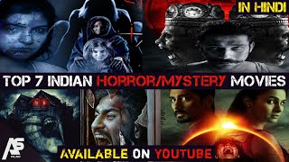 Top 7 Horror Mystery Hindi Dubbed Movies|Available on Youtube|Best Horror Thriller Movie in Hindi