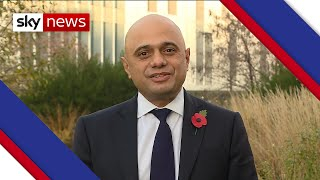 Sajid Javid: Trump acting like an adolescent over US election result