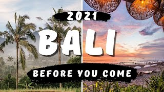 Bali Travel Guide 2021 (everything you need to know)
