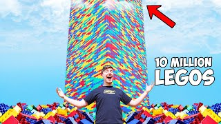 I Built The World's Largest Lego Tower