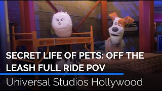 Secret Life of Pets: Off the Leash Full POV | Universal Studios Hollywood