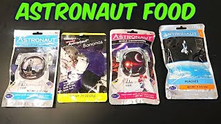Astronaut Food Taste Test