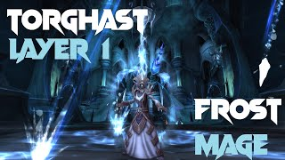 World Of Warcraft: Shadowlands - Torghast - Frost Mage - First Time Layer 1 Final Fight (GS:144)