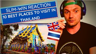 Englishman REACTS TO 10 BEST PLACES TO VISIT THAILAND