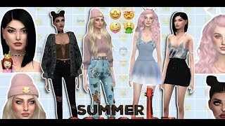 "(FIRST TIME!) THE SIMS 4 : ""SUMMER CONCERT"" SONG INSPIRED 