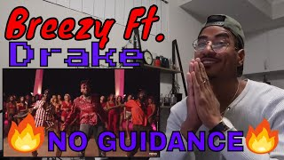 Chris Brown - No Guidance (Official Video) ft. Drake (Jtip Reaction)