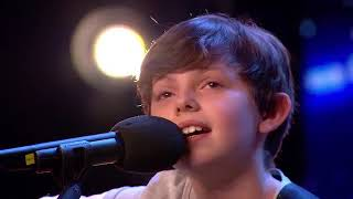 Father and Son Get Simon Cowell's GOLDEN BUZZER on Britain's Got Talent   Kids Got Talent DN97KXblWu