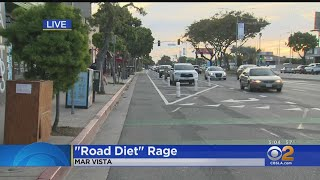Stay In Your Lane: Fight Over 'Road Diet' In Mar Vista Intensifies