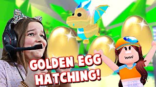 Hatched My GOLDEN EGG In ADOPT ME!! **Roblox** | JKREW GAMING