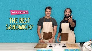 Who Makes The Best Sandwich? | Ft. Satyam & Akshay | Ok Tested