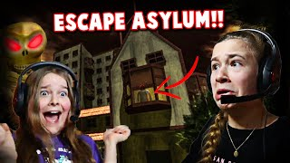 Escaping The Haunted ASYLUM!! **SCARY** | JKREW GAMING