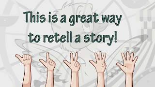 5 Finger Retell: The Simple Technique Your Child Will Love to Do When They Retell a Story