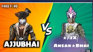 1Vs1 Custom challenge 🔥Ajjubhai94 total gaming And ★℟zx᭄ Ansar★ rzx gaming🔥