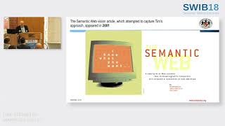 The Semantic Web: vision, reality and revision (SWIB18 Keynote by James Hendler)
