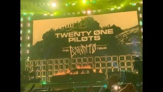 Twenty One Pilots LIVE (The Bandito Tour) SSE Hydro Glasgow 4th March 2019