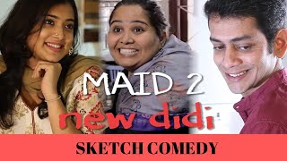 SUMUKHI suresh | MAID VS. GIRLFRIEND epic! | MADHURI BRAGANZA |  funny video