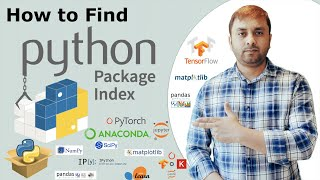 How to Find Python Package Index | How to use Pip and PyPI |