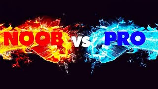 pro. ~vs~. noob.  that's game let's watch it