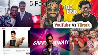 5 Interesting Facts About CarryMinati You Probably Didn't Know!! |Youngest Successful YouTuber (IN)
