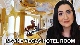 We Stayed In A $25,000 Hotel Room In Vegas