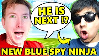 I AM THE NEW BLUE SPY NINJA Because DANIEL LEFT CHAD WILD CLAY VY QWAINT for ALIE