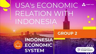 USA's ECONOMIC RELATIONS WITH INDONESIA