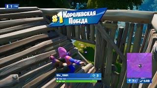 Top 1 from the enemy side in Fortnite