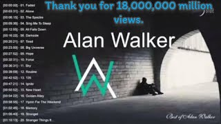Best Of Music Mix Top 20 popular songs By Alan Walker