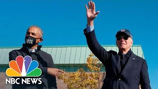 Biden And Obama Campaign In Michigan | NBC News