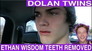 ETHAN GETS HIS WISDOM TEETH REMOVED!! reaction Tyler Wibstad