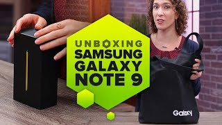 Unboxing the Samsung Note 9: Here's everything you get