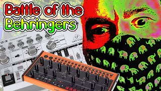 Behringer Crave vs TD3 mini review and sequencing tutorial