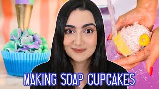 I Tried Following A Soap Cupcake Tutorial