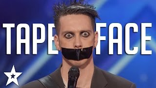 Tape Face Auditions & Performances | America's Got Talent 2016 Finalist