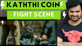 Kaththi coin fight scene Reaction By Lalit Jadaun