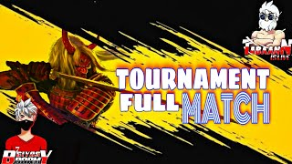 Previous tournament- Full Match