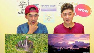 10 BEST PLACES TO VISIT IN INDONESIA REACTION | Purple Snap Reaction