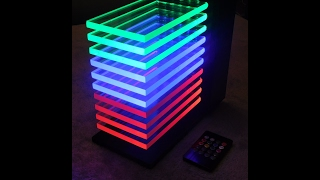 Led tower RGB LM3915, Vu-mètre à Led RGB