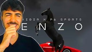 PERFEKT 👊🏼🏎 XIDIR x PA SPORTS - ENZO REACTION