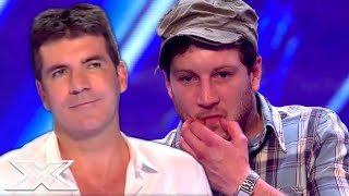SIMON COWELL Really Really Likes This Audition | X Factor Global
