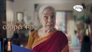 Pureit Copper RO – World's 1st RO with Copper Charge Technology (Hindi)
