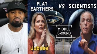 REACTS TO - Flat Earthers vs Scientists Can We Trust Science!!